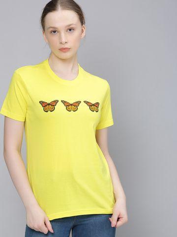 Dillinger | Dillinger Women Regular Printed T-Shirt