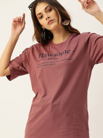 Dillinger | Dillinger Oversized Printed T-shirt