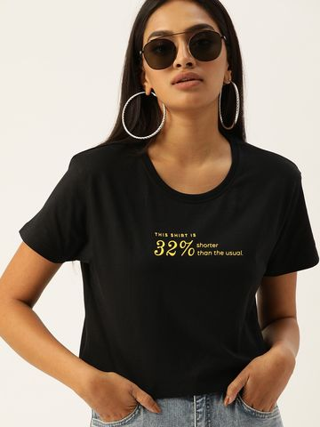 Dillinger | Dillinger Boxy Crop Printed T-shirt