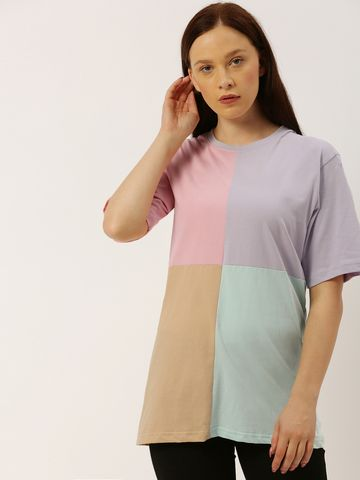 Dillinger | Dillinger Color-blocked Over sized T-shirt