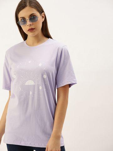 Dillinger | Dillinger Women's Graphic Printed Oversized T-shirt