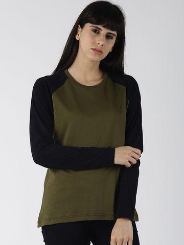 Dillinger | Dillinger Women's Solid Raglan Sleeve T-shirt.