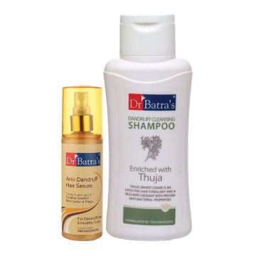 Dr Batra's | Dr Batra's Anti Dandruff Hair Serum and Dandruff Cleansing Shampoo - 500 ml