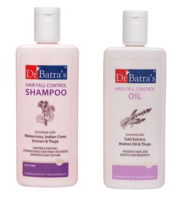 Dr Batra's | Dr Batra's Hair Fall Shampoo And Oil 200Ml Each