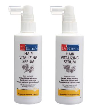 Dr Batra's | Dr Batra's Hair Vitalizing Serum - 125 ml (Pack of 2)