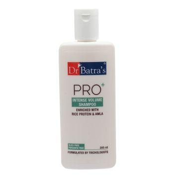 Dr Batra's | Dr Batra's Hair Vitalizing Serum 125 ml, Pro+ Intense Volume Shampoo - 200 ml and Hair Oil - 200 ml