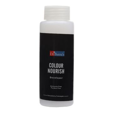 Dr Batra's | Dr Batra's Colour Nourish Hair Ammonia, Paraben Free Colour Cream Enriched With Olive Oil to Nourish Hair Black - 120 gm