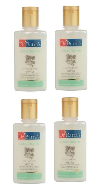 Dr Batra's | Dr Batra's Conditioner Enriched With Amla - 100 ml (Pack of 4)