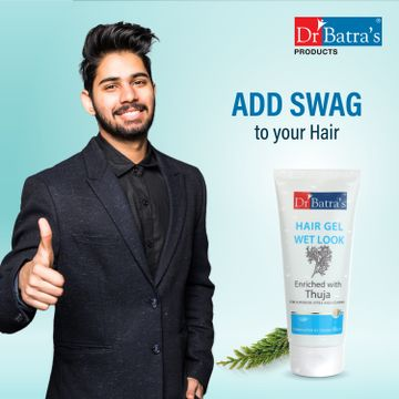 Dr Batra's | Dr Batra's Hair Gel Wet Look Enriched With Thuja - 100 gm (Pack of 4)