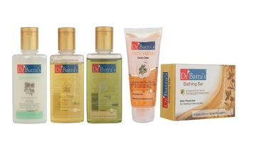 Dr Batra's | Dr Batra's Complete Bath Care Kit (Set of 5)