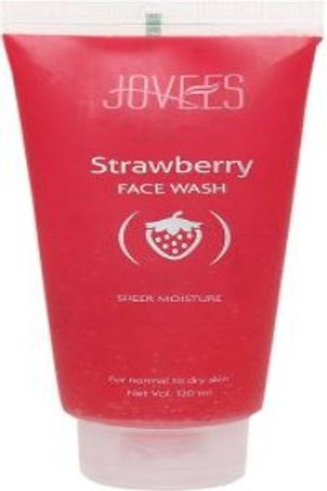 Jovees | JOVEES Strawberry Face Wash  (120 ml)