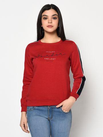 METTLE   Women BRICK Sweatshirts