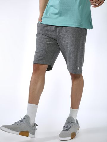 Blue Saint | Blue Saint Men's Grey Regular Fit Shorts