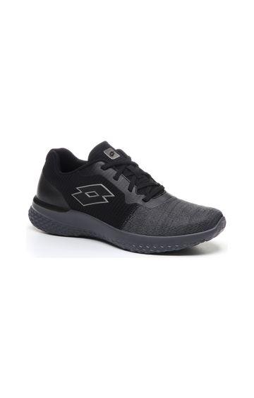 Lotto | Lotto Men's Evolight II Mlg All Black/Gravity Titan/Cool Gray 11C Lifestyle Shoes