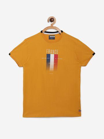 OCTAVE | Boys MUSTARD T-Shirts