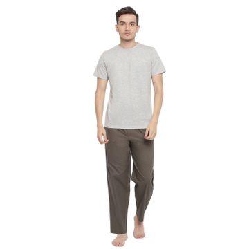 La Intimo   Playful Solid Pyjama TShirt Set