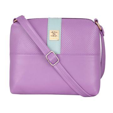 ESBEDA   ESBEDA Two Contrasting Colors Sling Bag For Women