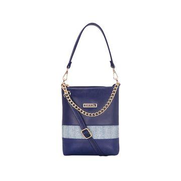 ESBEDA | ESBEDA Blue Color Lace Glitter Slingbag For Women