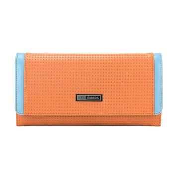ESBEDA | ESBEDA Orange Color Emboss Texture Wallet For Women