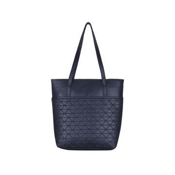 ESBEDA | ESBEDA Blue Color Vinyl Handbag With Sling Bag For Women