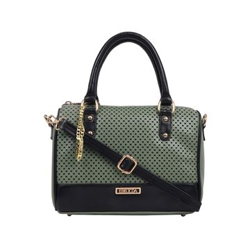 ESBEDA | ESBEDA Turquoise Green Color Twill Hand Bag For Women