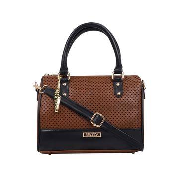 ESBEDA   ESBEDA Tan Color Twill Hand Bag For Women