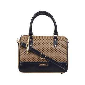 ESBEDA   ESBEDA Camel Brown Color Twill Hand Bag For Women