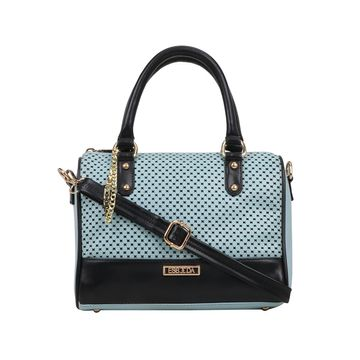 ESBEDA | ESBEDA Blue Color Twill Hand Bag For Women