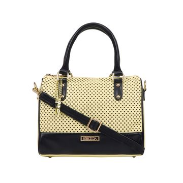 ESBEDA | ESBEDA Yellow Color Twill Hand Bag For Women