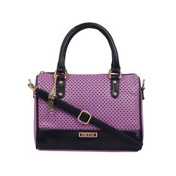 ESBEDA   ESBEDA Purple Color Twill Hand Bag For Women