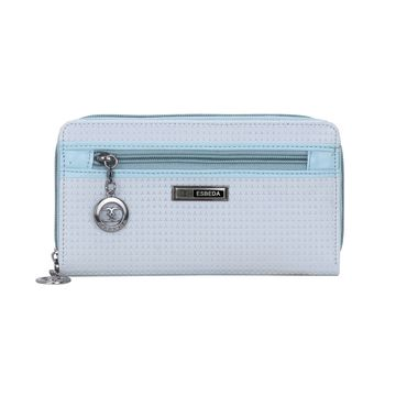 ESBEDA | ESBEDA Blue Color Twill Wallet For Women
