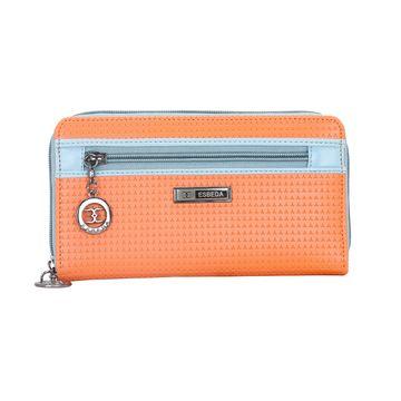ESBEDA | ESBEDA Orange Color Twill Wallet For Women