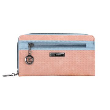 ESBEDA | ESBEDA Pink Color Twill Wallet For Women