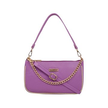ESBEDA | ESBEDA Purple Color Twill Sling Bag For Women