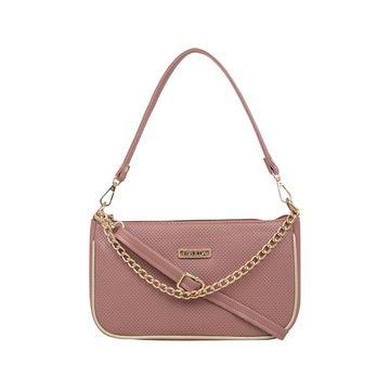 ESBEDA | ESBEDA Peach Color Twill Sling Bag For Women