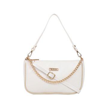 ESBEDA | ESBEDA White Color Twill Sling Bag For Women