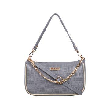 ESBEDA | ESBEDA Grey Color Twill Sling Bag For Women