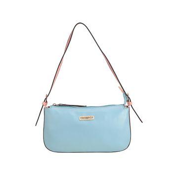ESBEDA | ESBEDA Light Blue And Pink Color Drymilk Handbag For Women