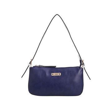 ESBEDA | ESBEDA Dark Blue And White Color Drymilk Handbag For Women