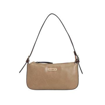 ESBEDA | ESBEDA Beige And Brown Color Drymilk Handbag For Women