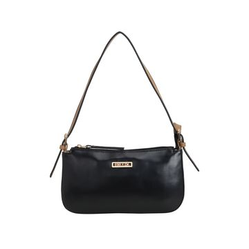 ESBEDA | ESBEDA Black And Beige Color Drymilk Handbag For Women