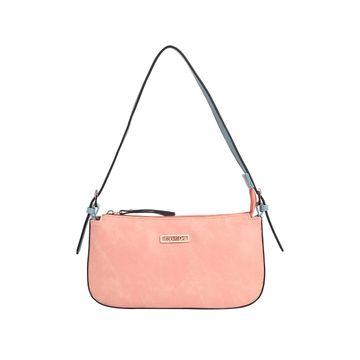 ESBEDA | ESBEDA Pink And Light Blue Color Drymilk Handbag For Women