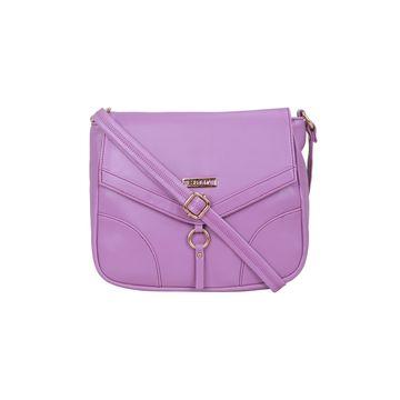 ESBEDA | ESBEDA Purple Color Drymill Comfort Sling bag For Women