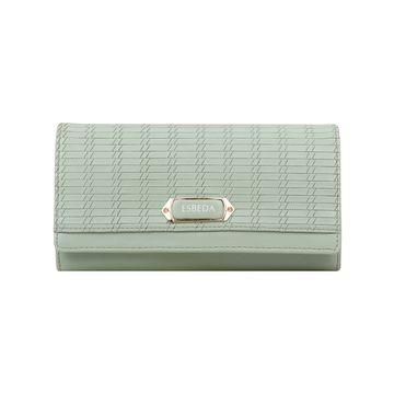 ESBEDA | ESBEDA Green Color Twill Wallet For Women