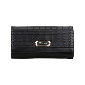 ESBEDA | ESBEDA Black Color Twill Wallet For Women
