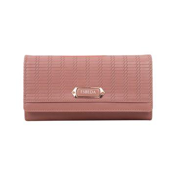 ESBEDA | ESBEDA Peach Color Twill Wallet For Women