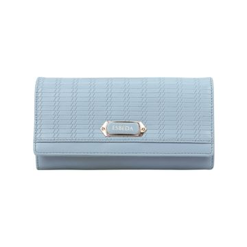 ESBEDA | ESBEDA Blue Color Twill Wallet For Women