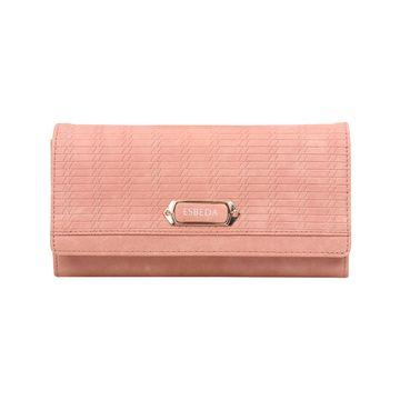 ESBEDA | ESBEDA Pink Color Twill Wallet For Women
