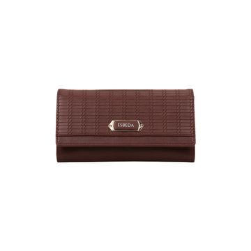 ESBEDA | ESBEDA Tan Color Twill Wallet For Women