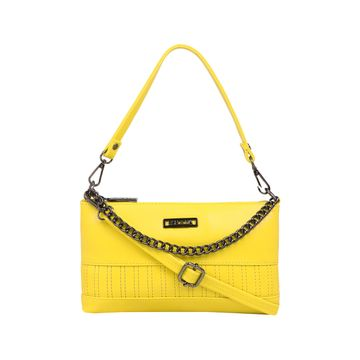 ESBEDA | ESBEDA Yellow Color Twill Sling Bag For Women